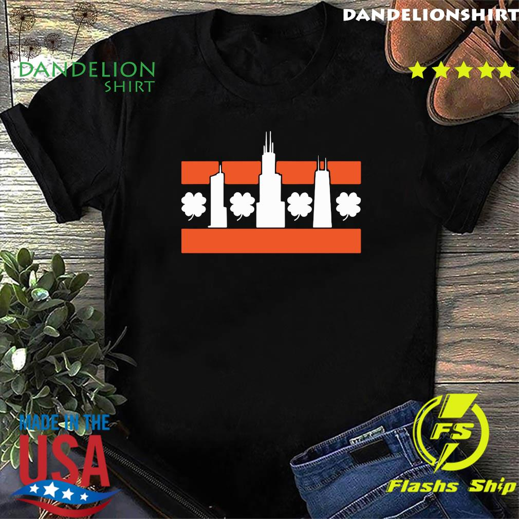 Chicago Shamrock Skyline Shirt