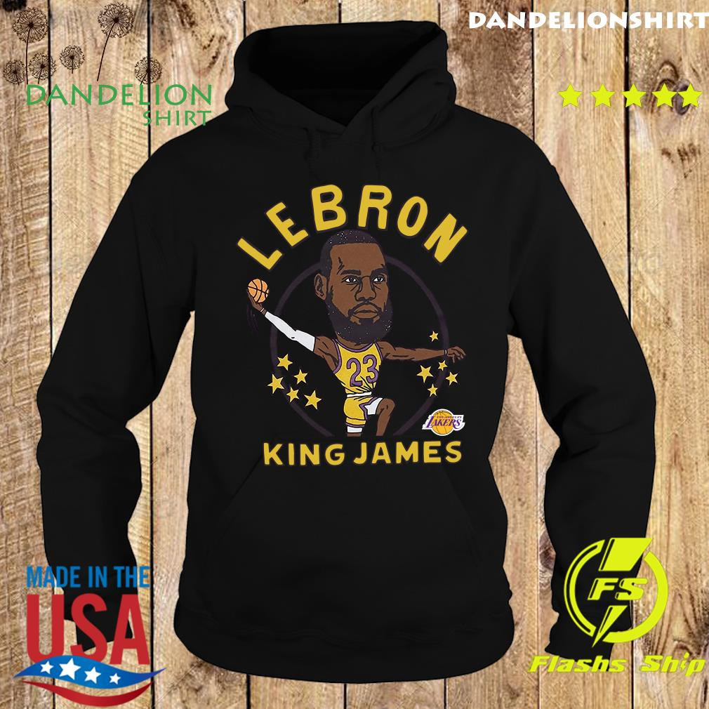 LeBron James King James Caricature Shirt Hoodie