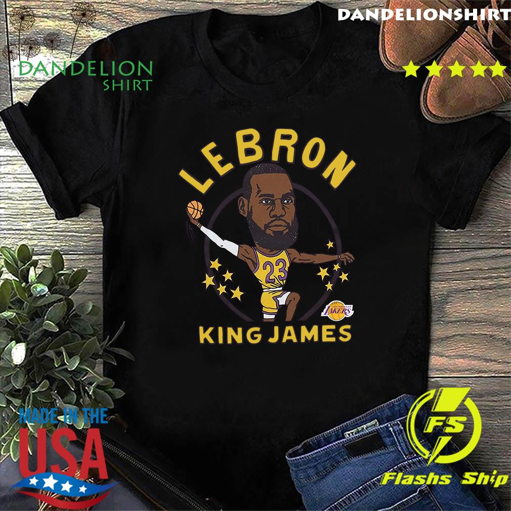 LeBron James King James Caricature Shirt