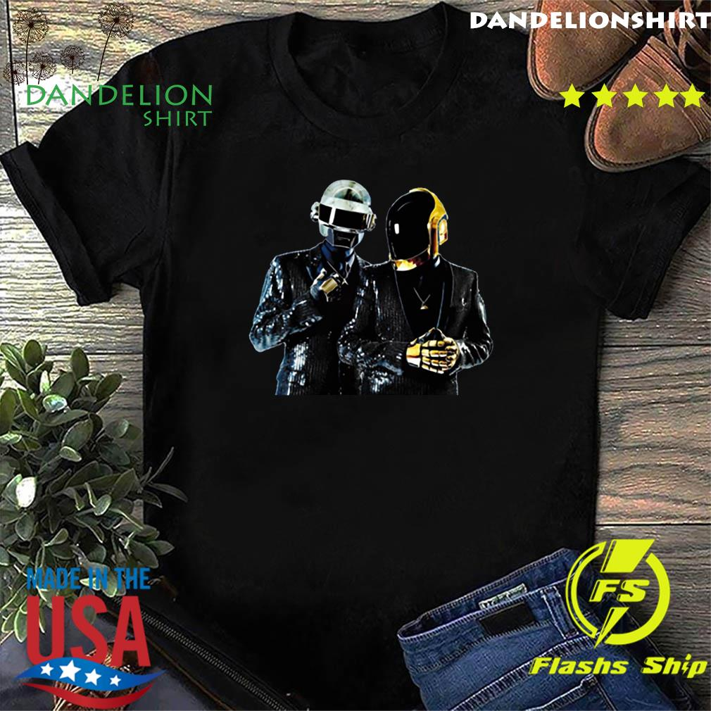 Logo Daft Punk Merch Shirt