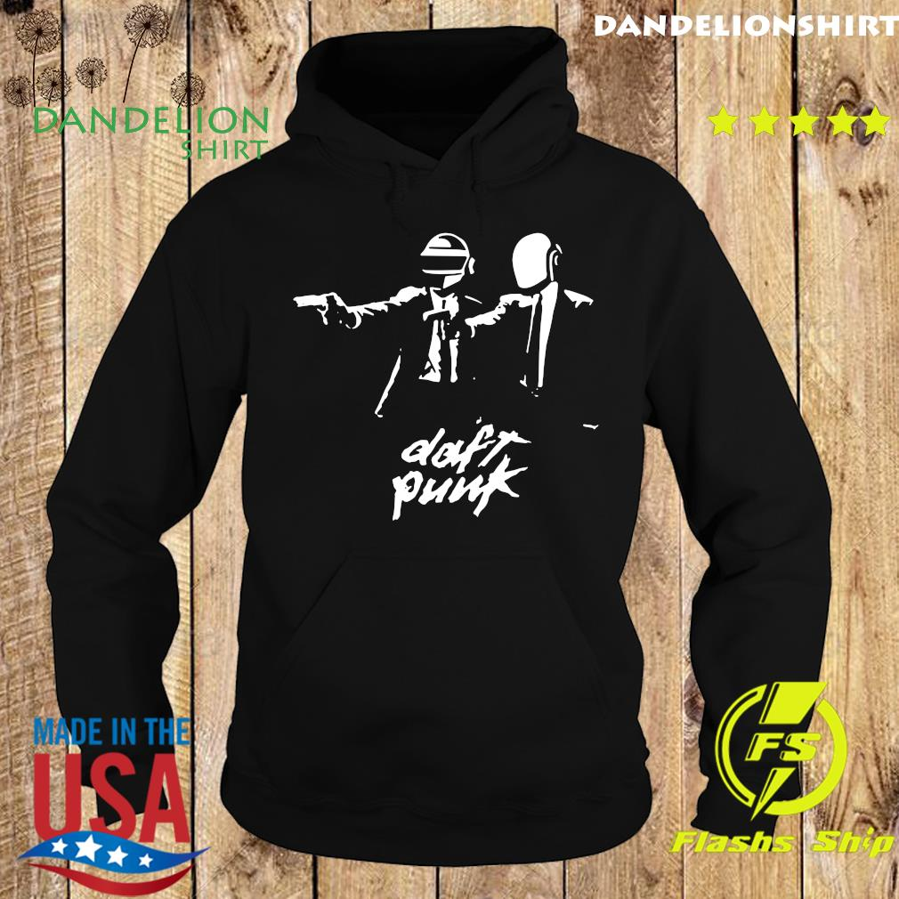 Official Daft Punk Fiction Essential Shirt Hoodie