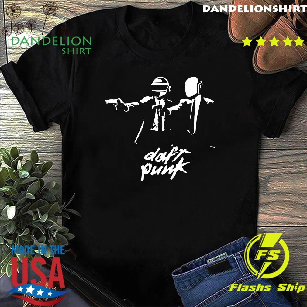Official Daft Punk Fiction Essential Shirt