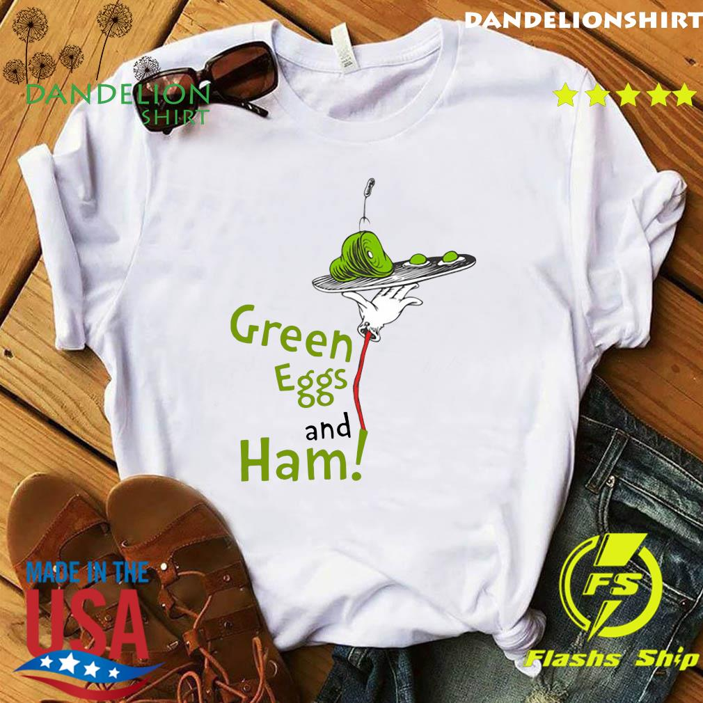 Official Dr. Seuss Green Eggs and Ham Shirt