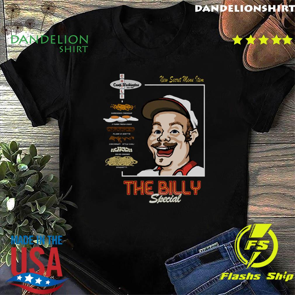 Official The Billy Special Camp Washington Chili Shirt