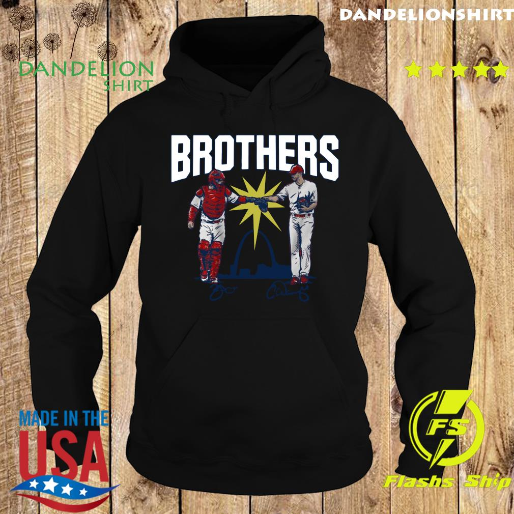 Official Wainwright and Molina Brothers Apparel St Louis Shirt Hoodie