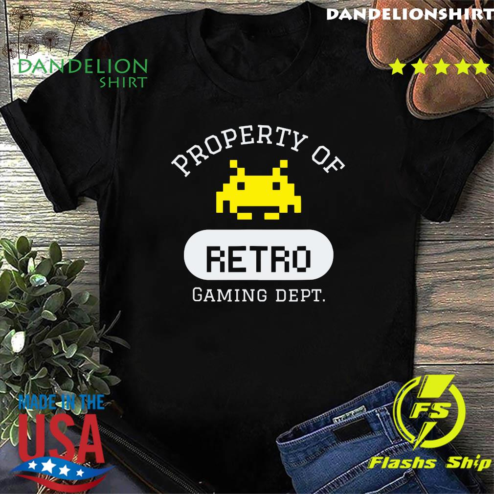 Property of Retro Gaming Dept Shirt