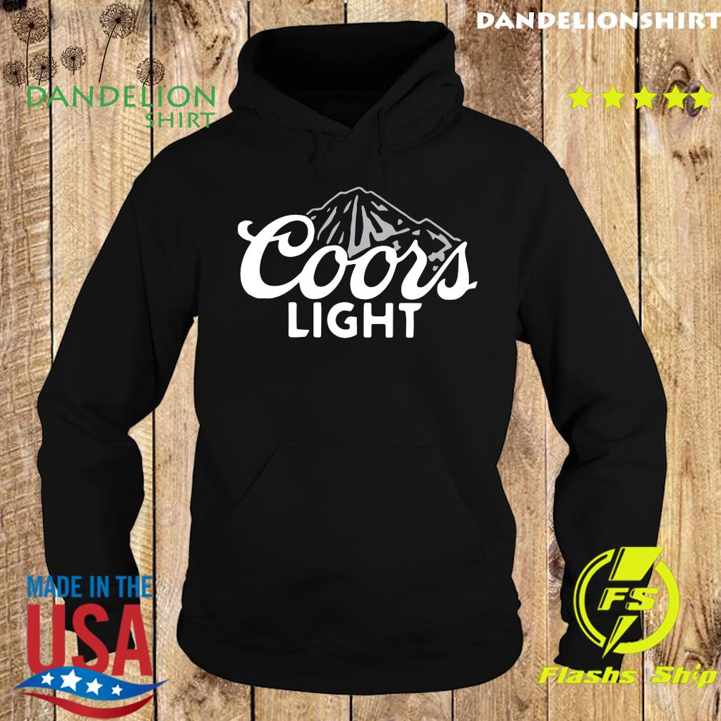 The Coors Light Shirt Hoodie