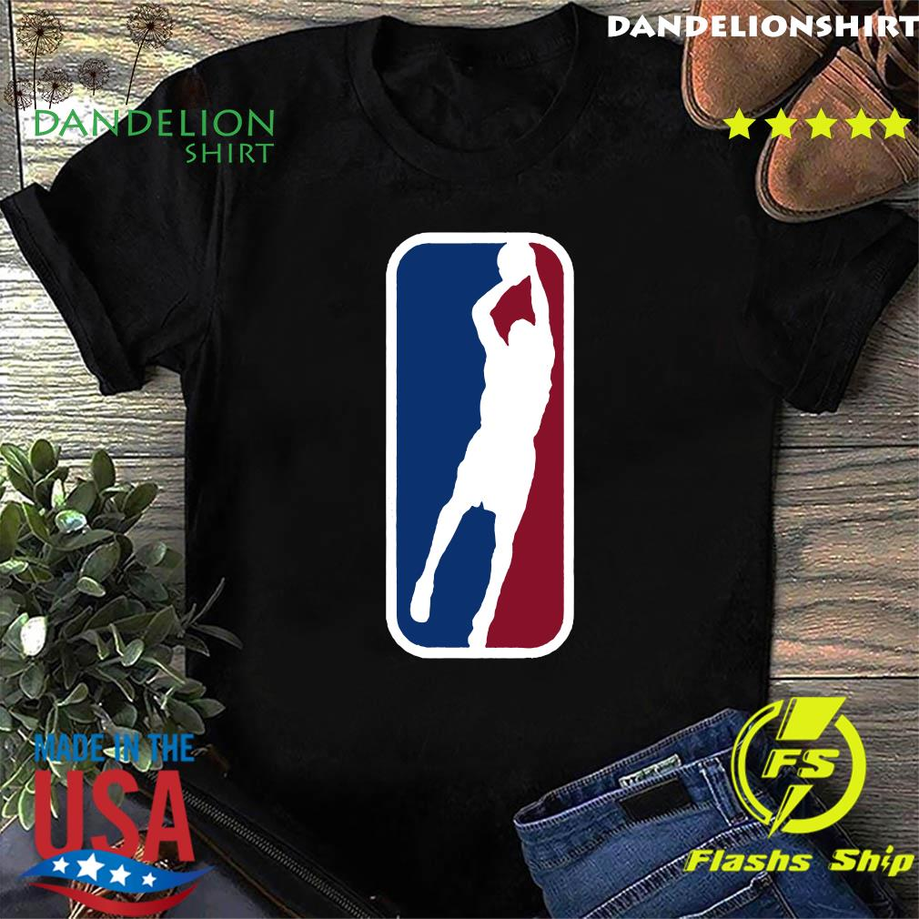 The Los Angeles Logo basketball shirt