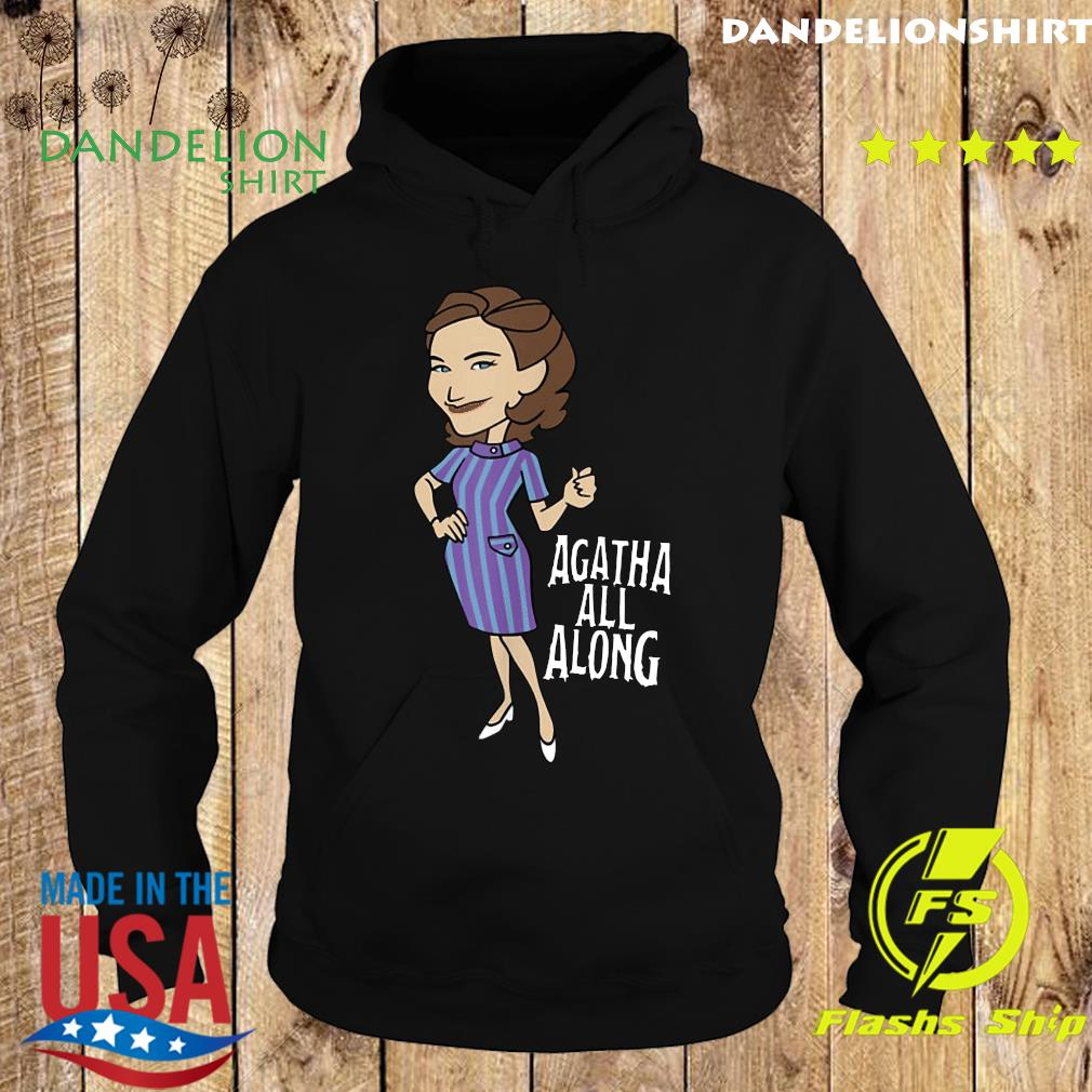 The WandaVision Agatha All Along Retro Portrait Shirt Hoodie