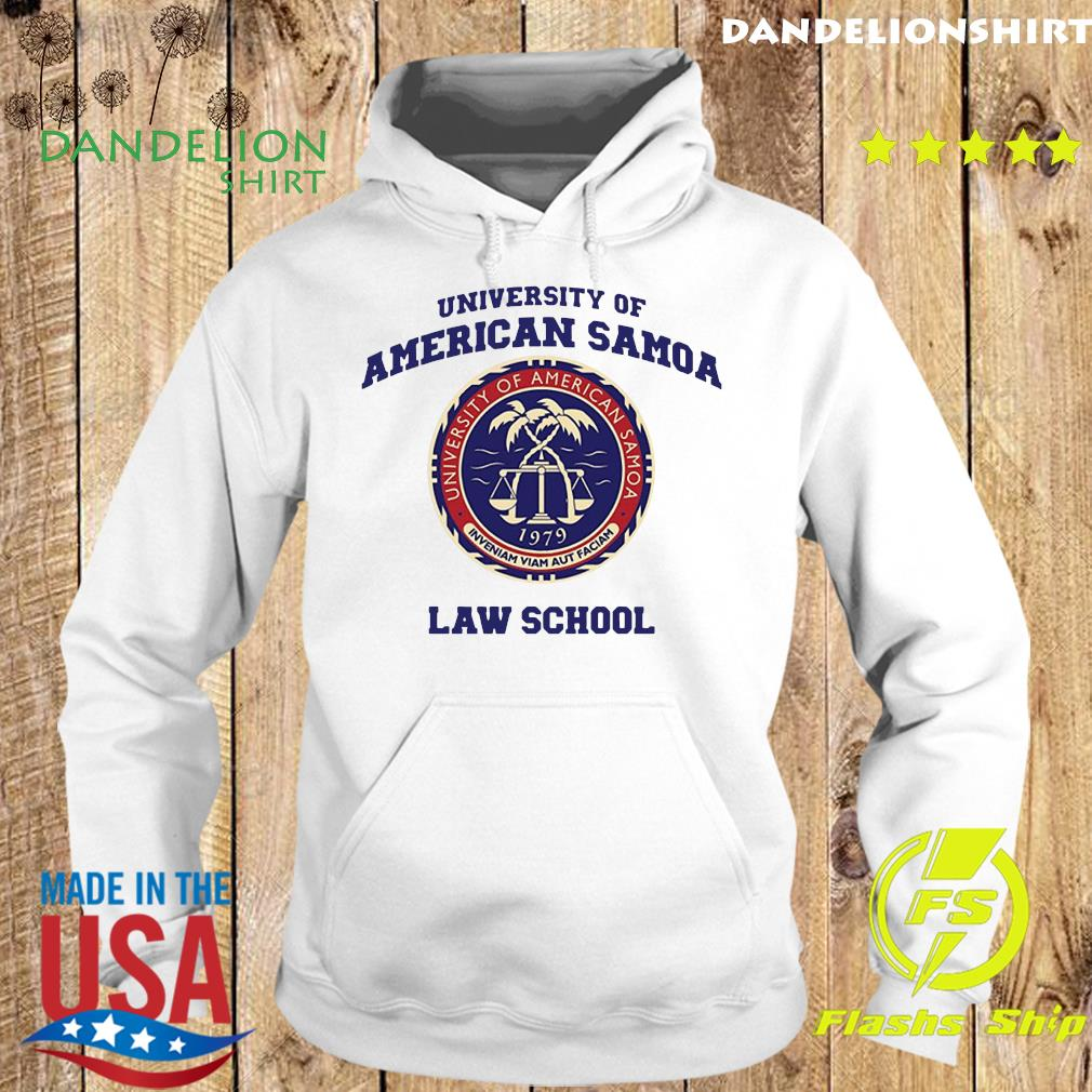 University Of American Samoa Law School Shirt Hoodie