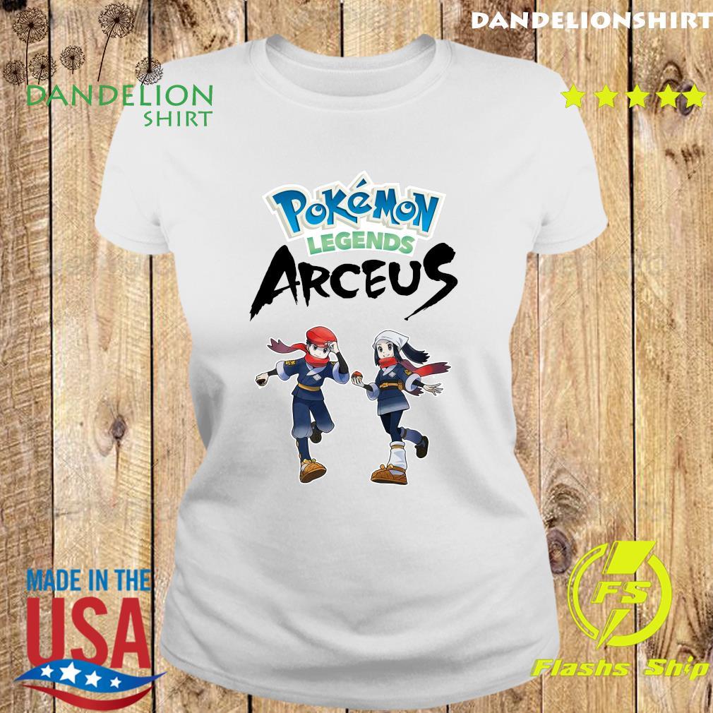 Official Pokemon Legends Arceus Shirt Ladies tee