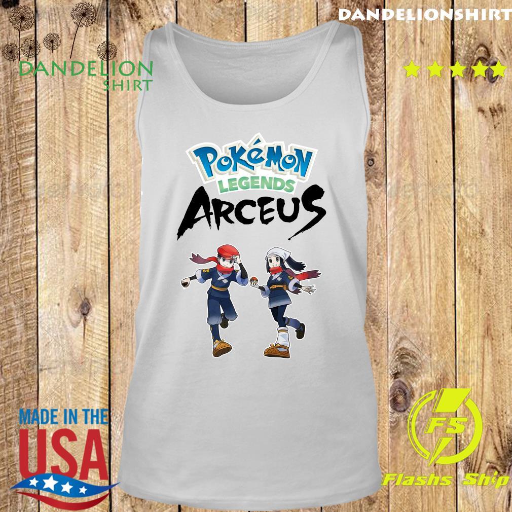 Official Pokemon Legends Arceus Shirt Tank top