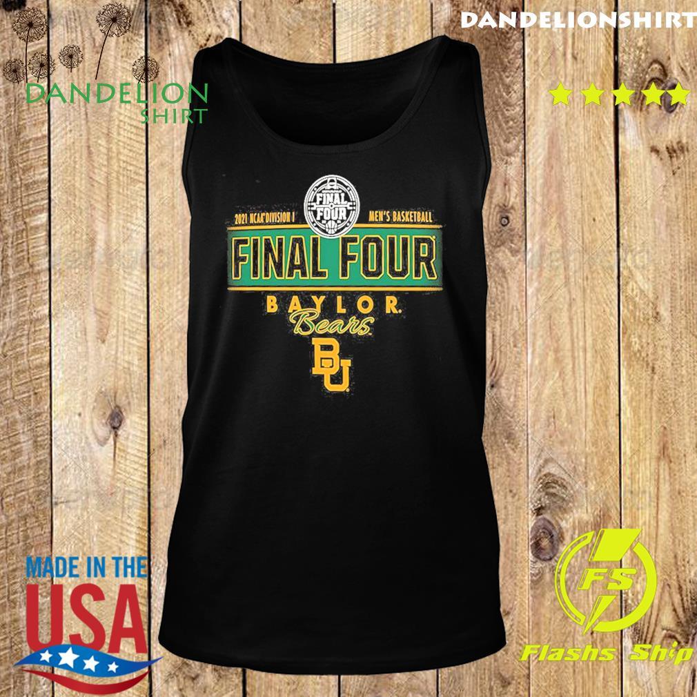 2021 NCAA Divisions Men's Basketball Final Four Baylor Bears BU s Tank top