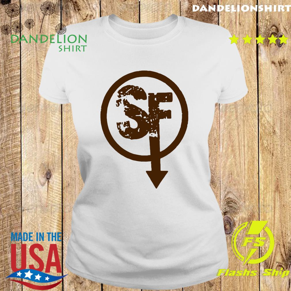 Official Larry Face Sanity's Fall Larry Shirt Ladies tee