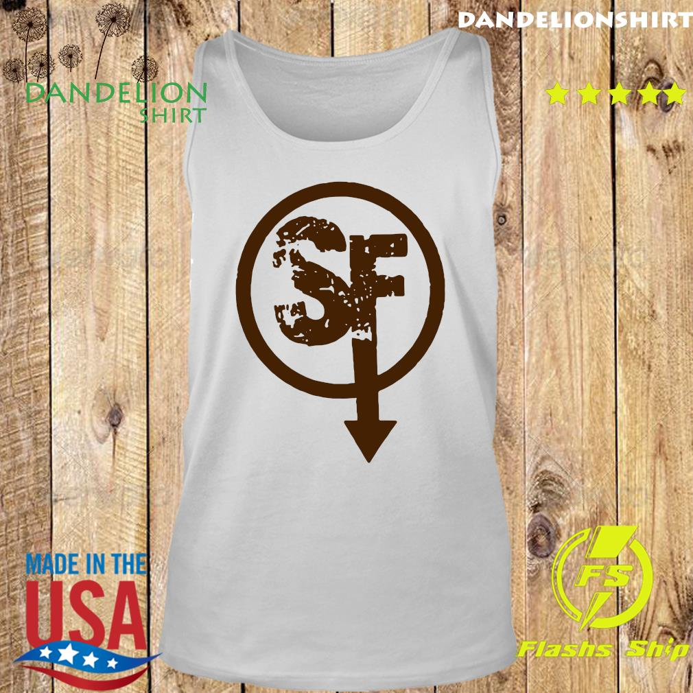Official Larry Face Sanity's Fall Larry Shirt Tank top