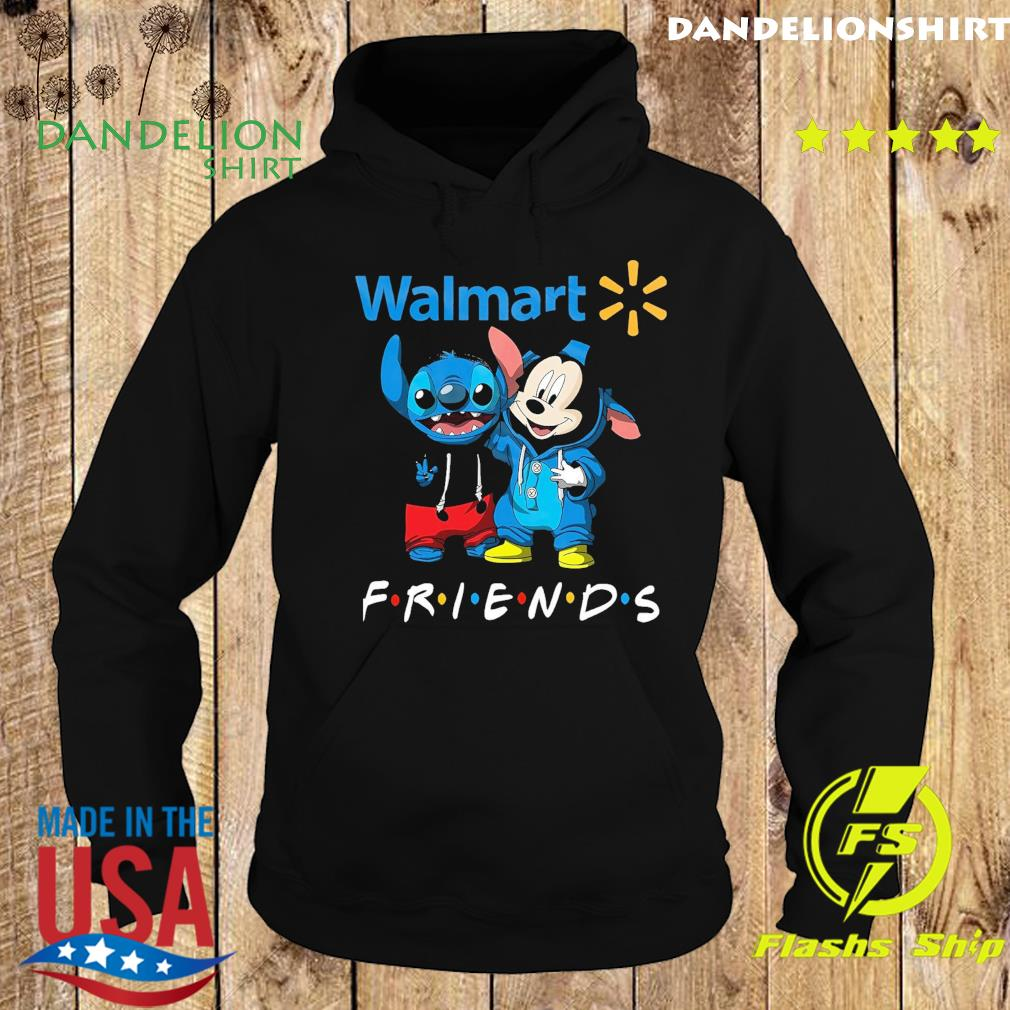 Official disney mickey mouse and baby stitch friends with Walmart s Hoodie