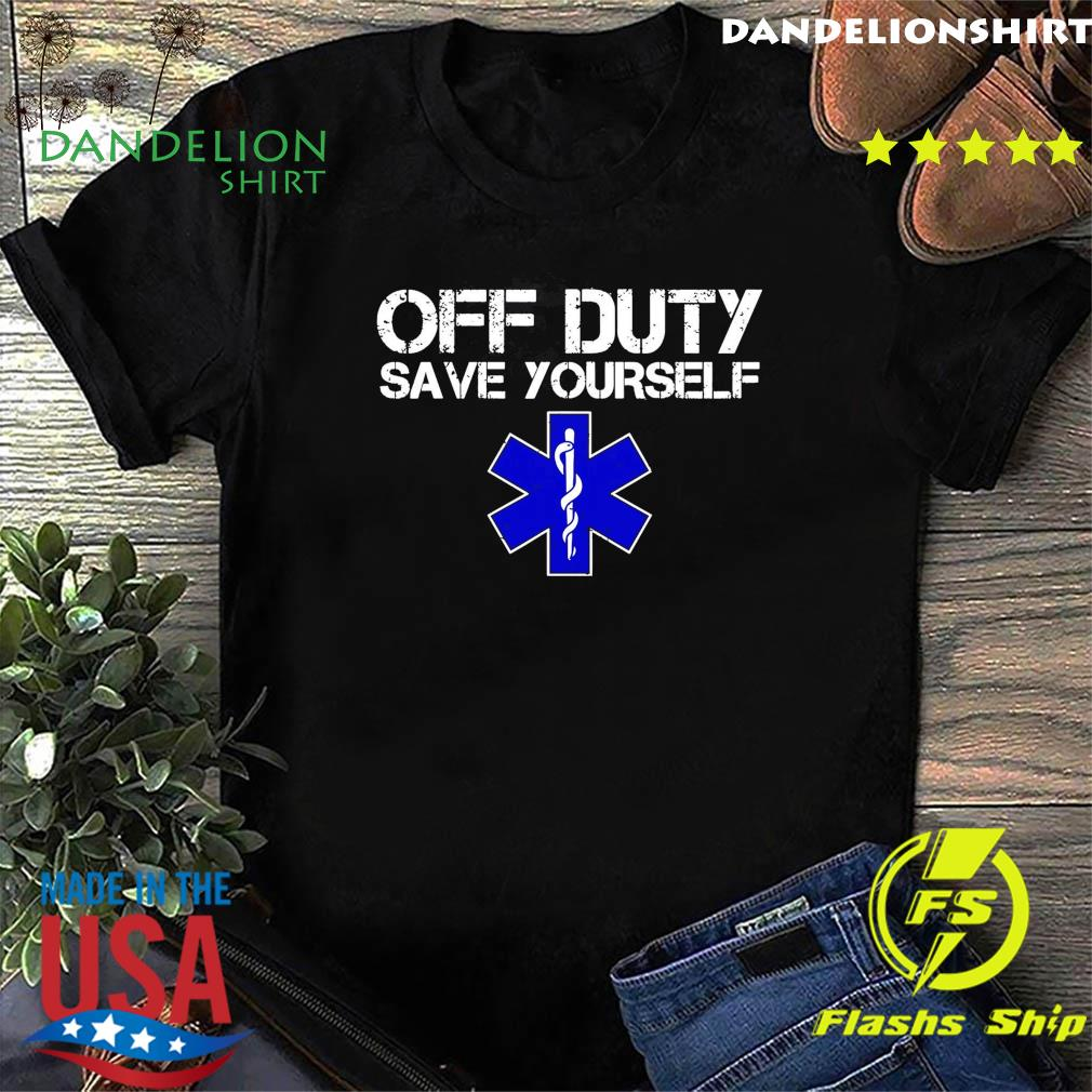Official Of Duty Save Yourself Shirt