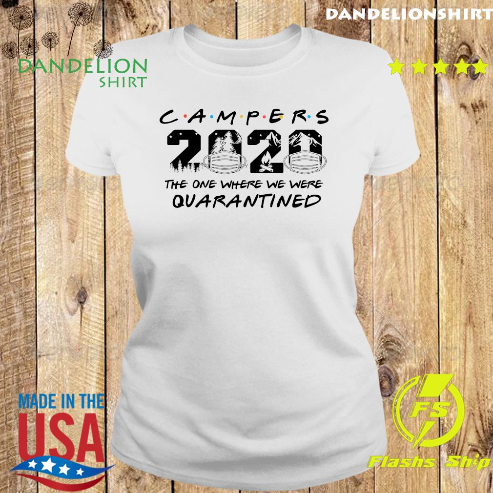 Camper 2020 the one where we were quarantined s Ladies tee