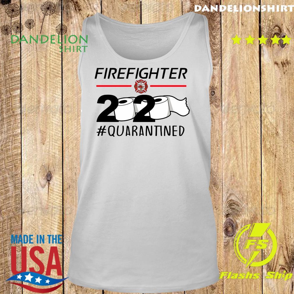 Fireghter 2020 quarantine s Tank top