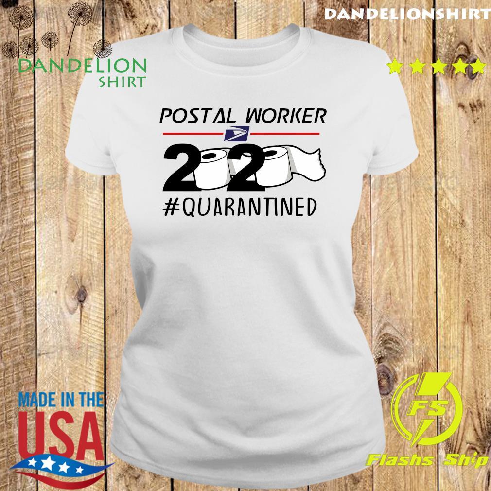 USPS Postal worker 2020 quarantined s Ladies tee