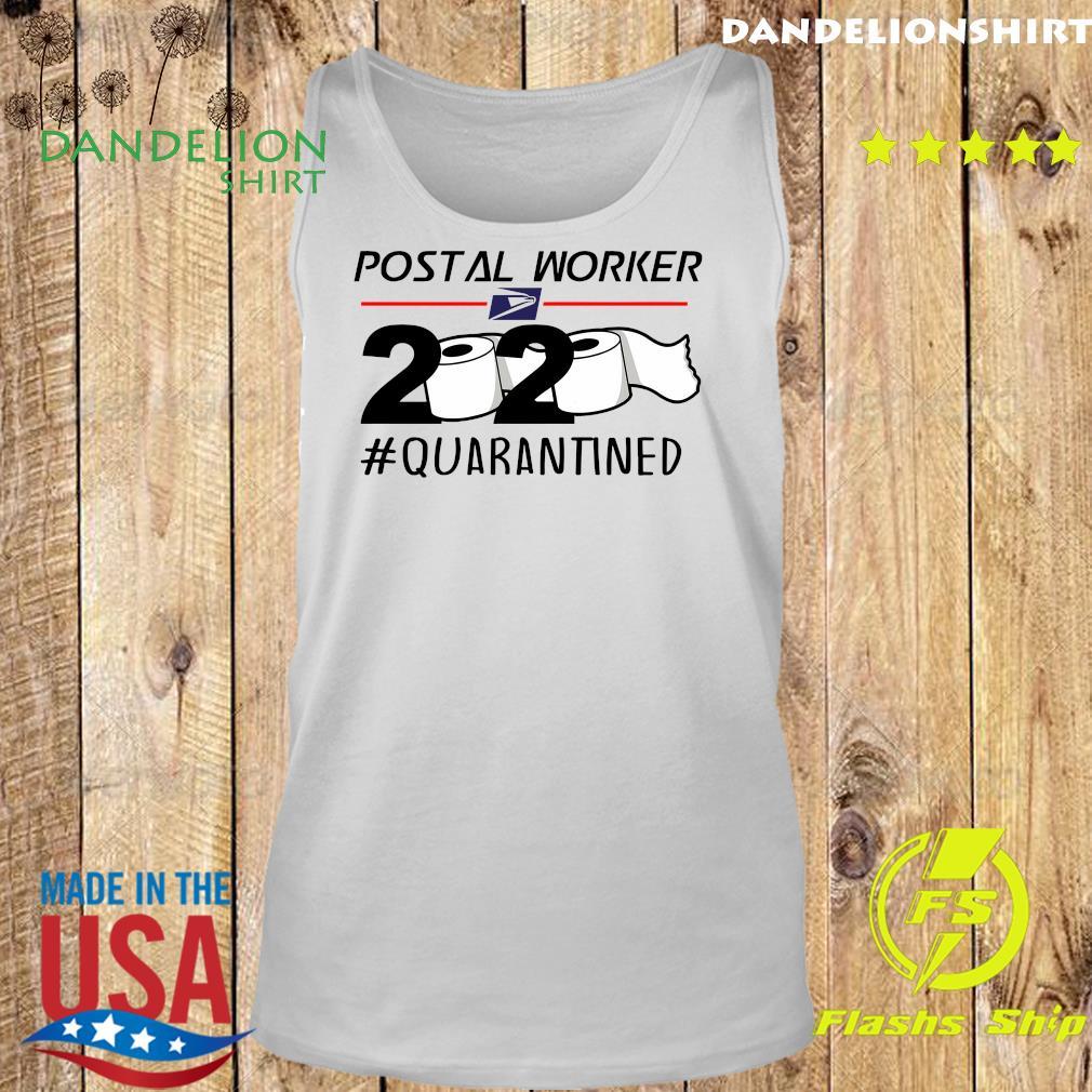 USPS Postal worker 2020 quarantined s Tank top