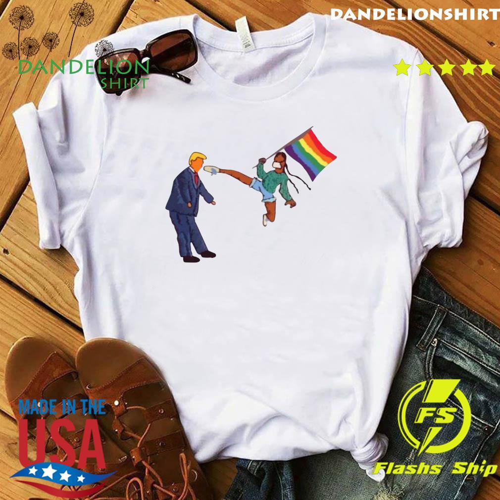 Official LGBT vs Donald Trump shirt