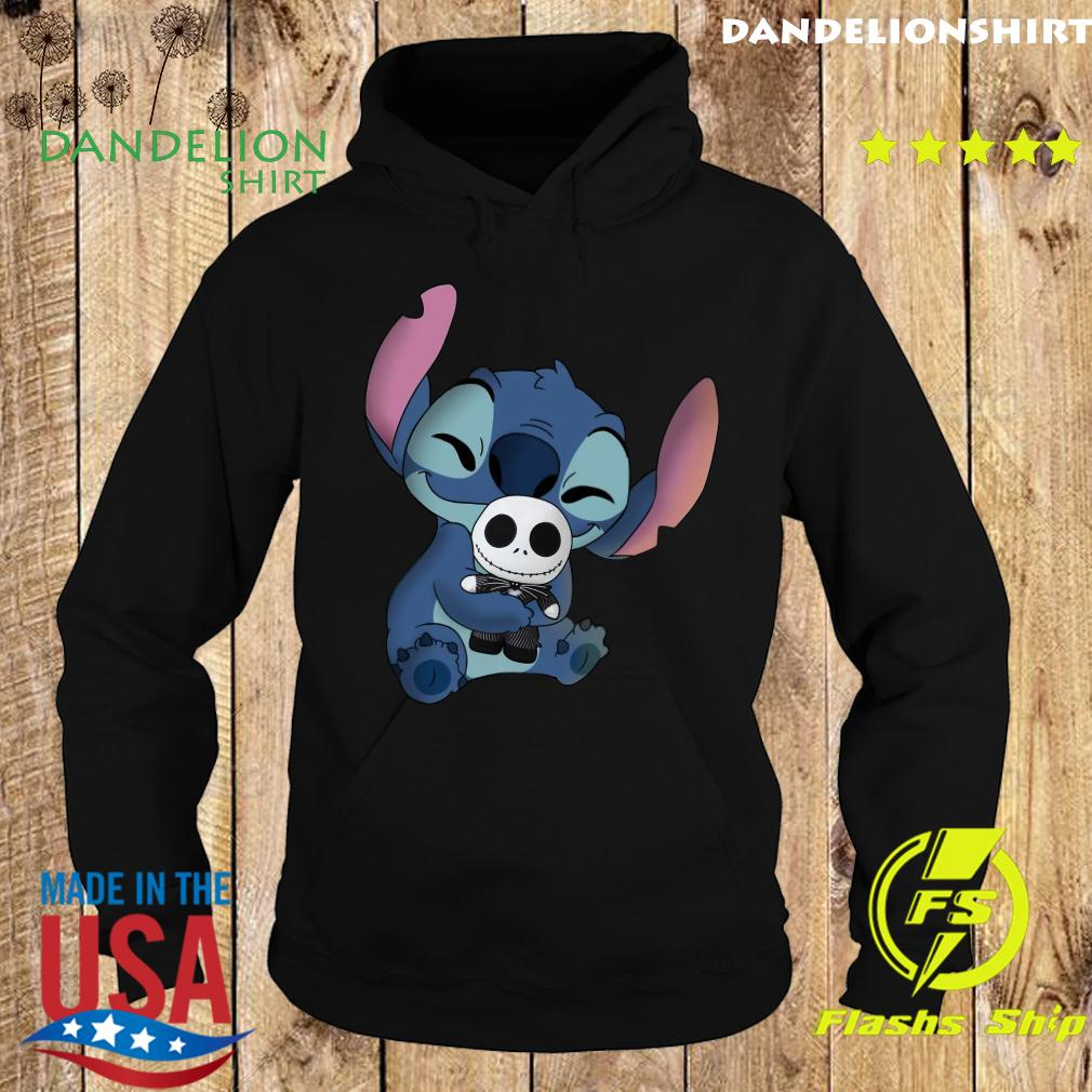 Stitch Hug Jack Skeleington Shirt Hoodie