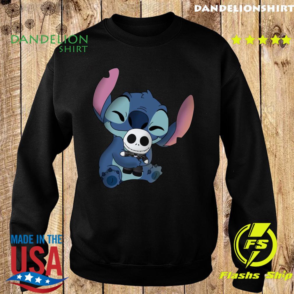 Stitch Hug Jack Skeleington Shirt Sweater