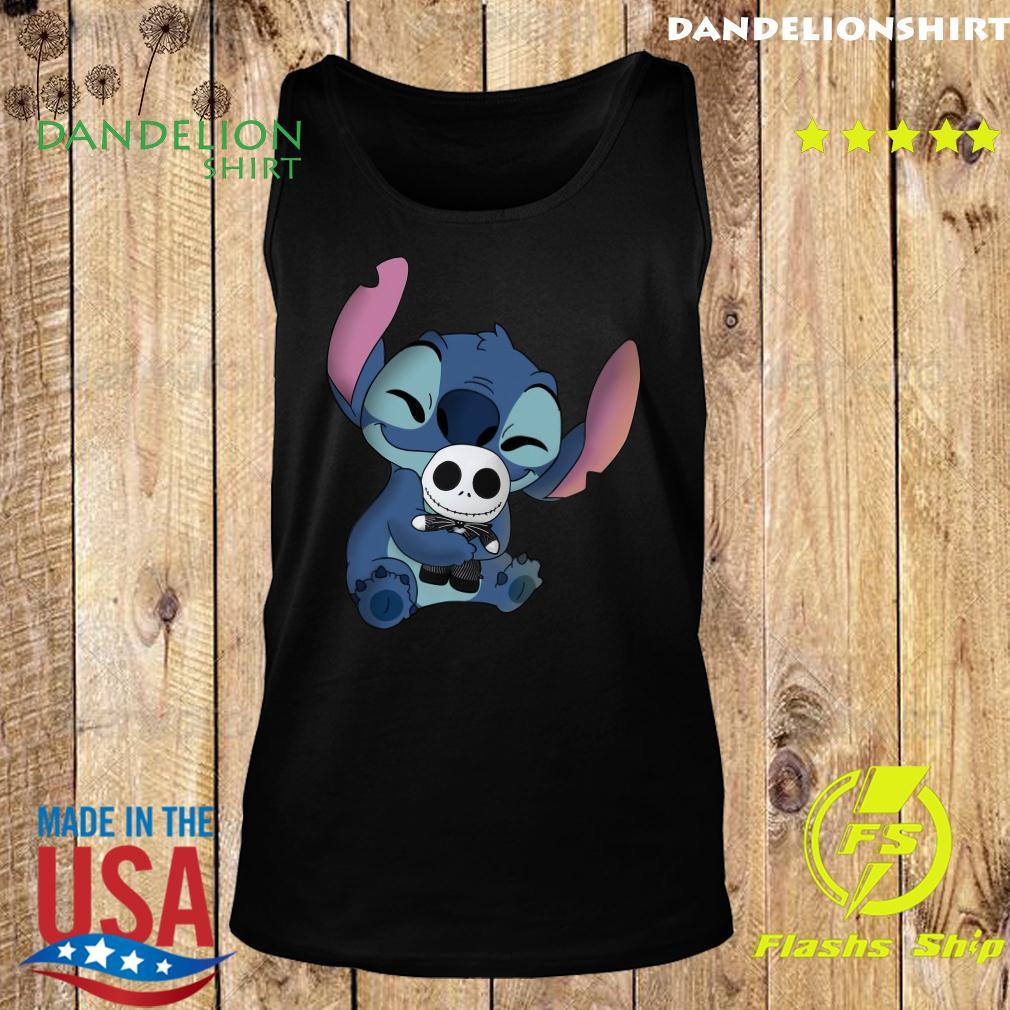 Stitch Hug Jack Skeleington Shirt Tank top