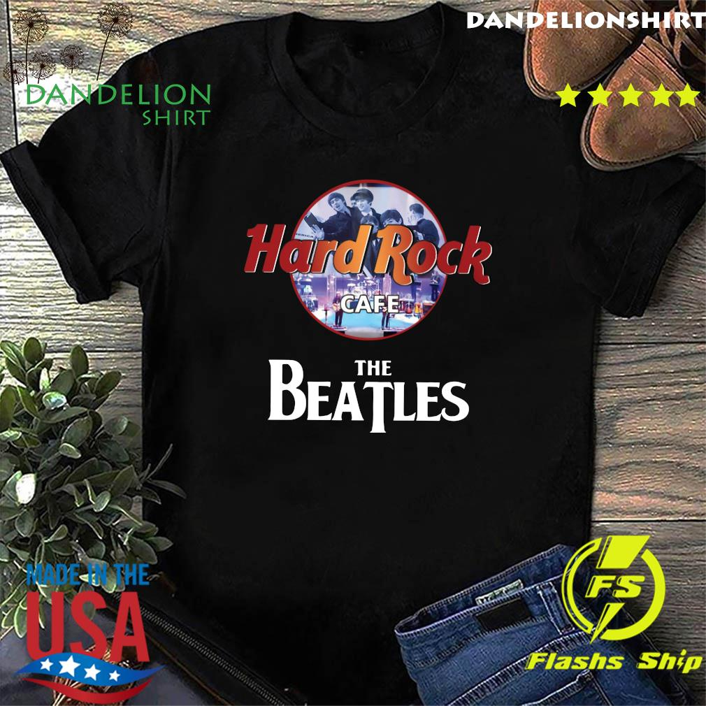 The Beatles Hard Rock Cafe Shirt