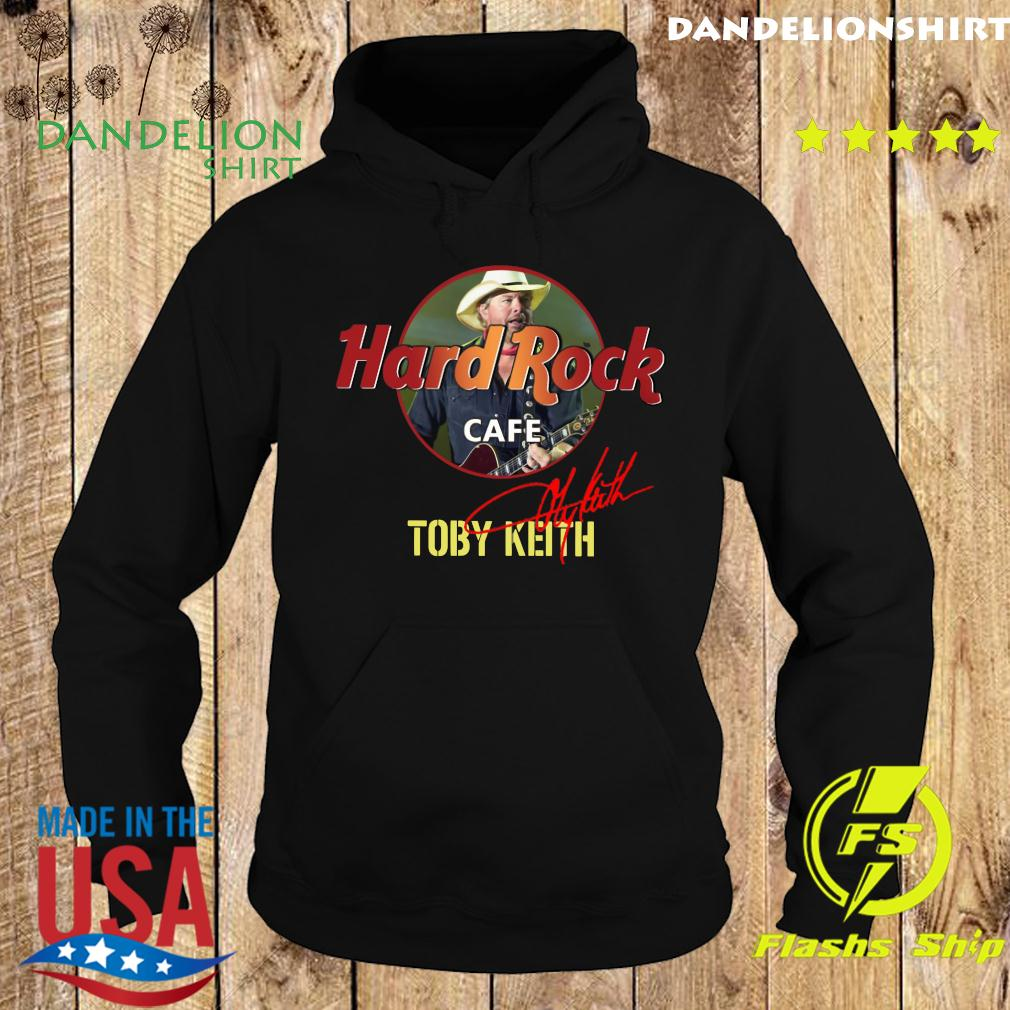 Toby Keith Hard Rock Cafe Signature Shirt Hoodie