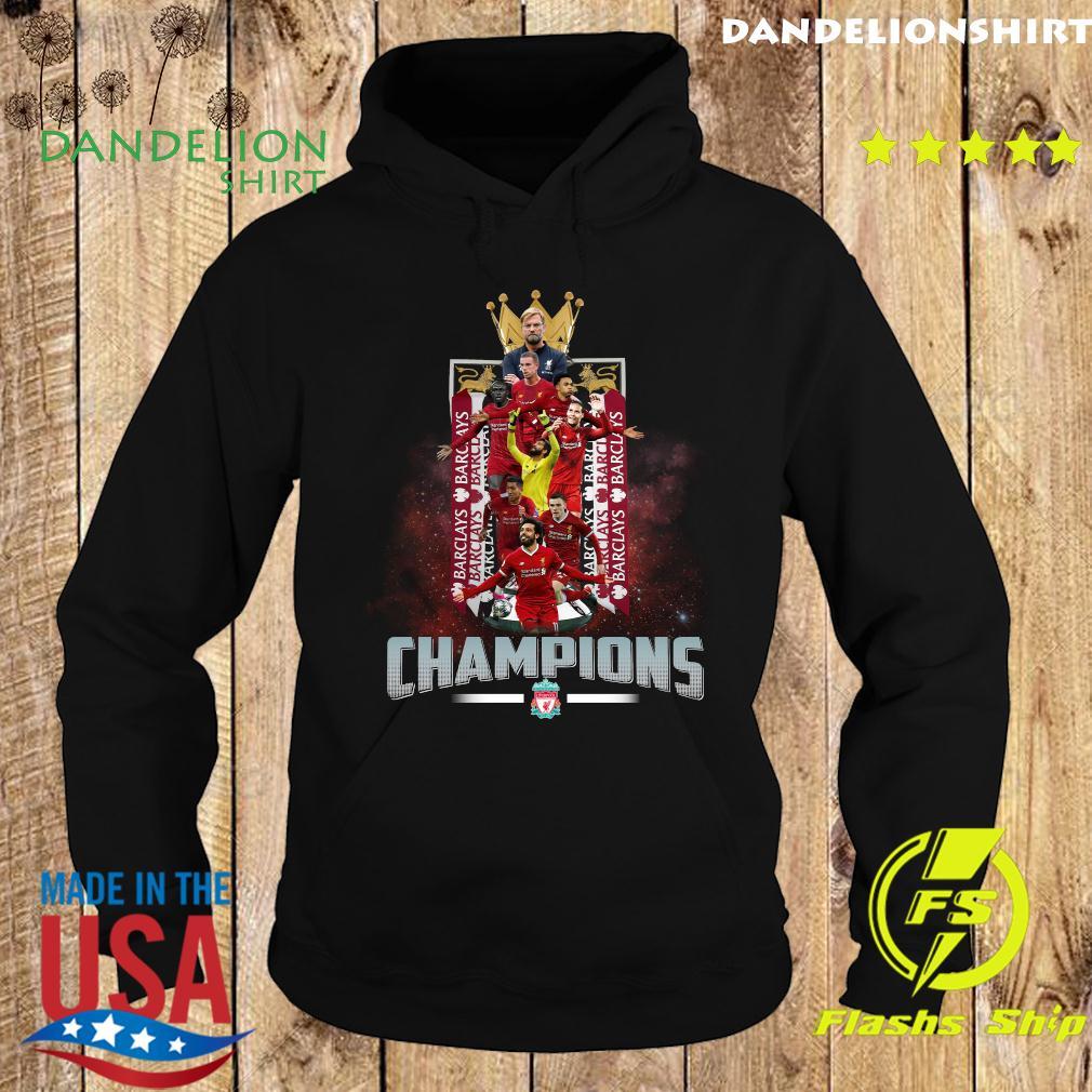 Barclays Barclays Barclays Liverpool Fc Champions Shirt Hoodie