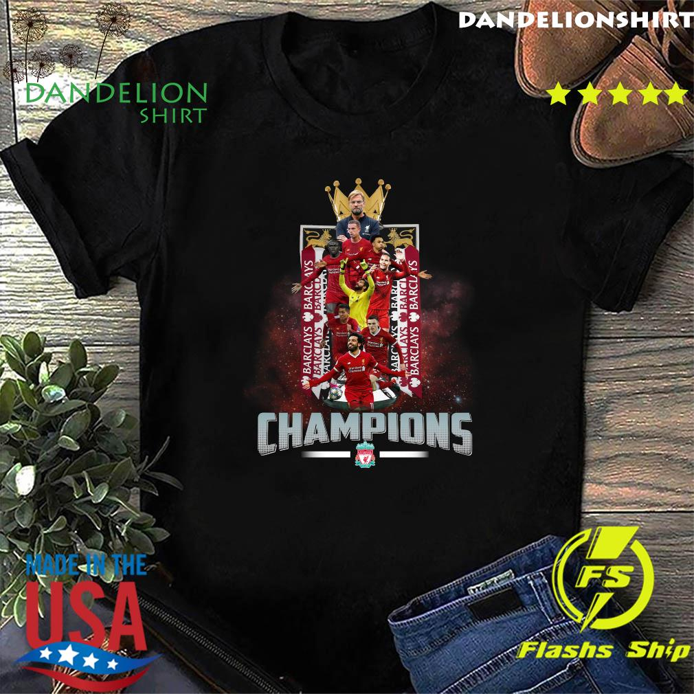 Barclays Barclays Barclays Liverpool Fc Champions Shirt