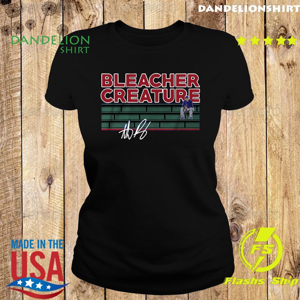Bleacher Creature Signature Shirt Ladies tee