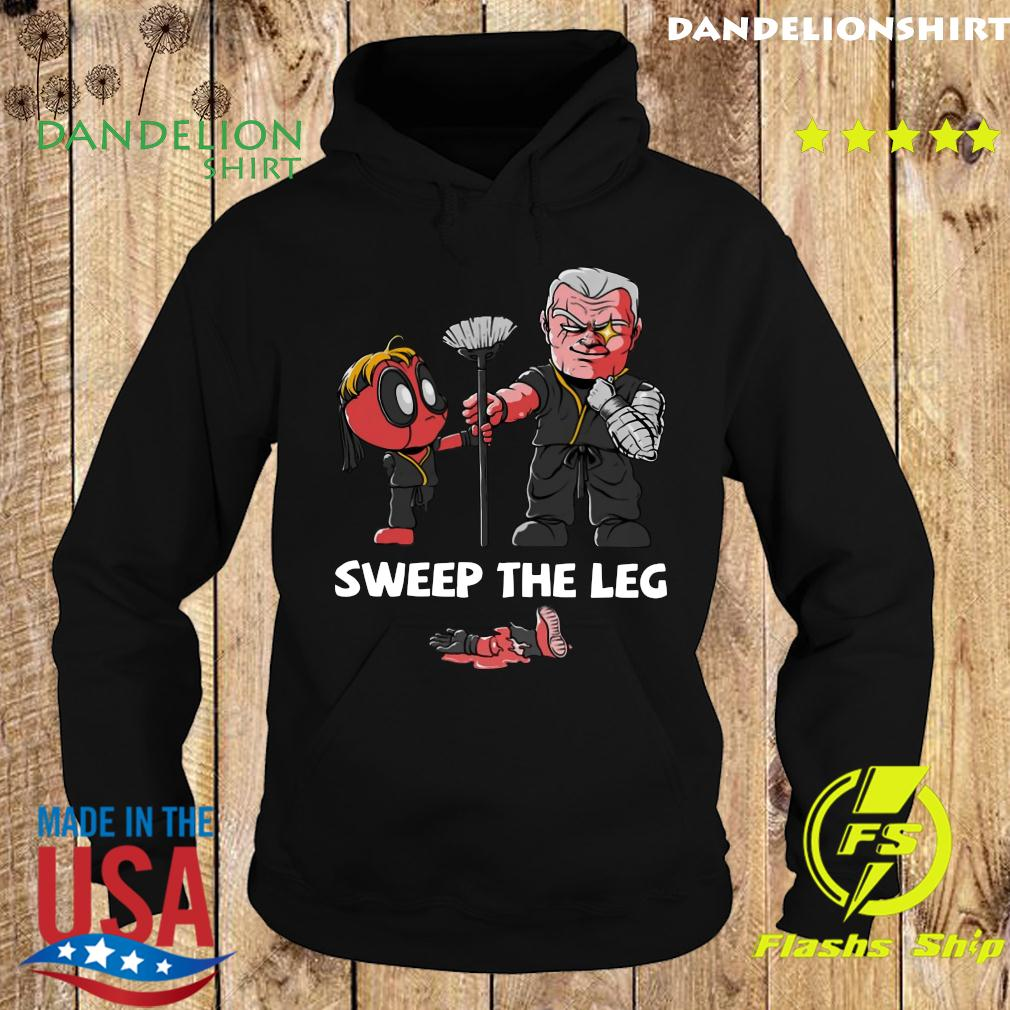 Clothing Sweep The Leg Funny Deadpool Cable Shirt Hoodie