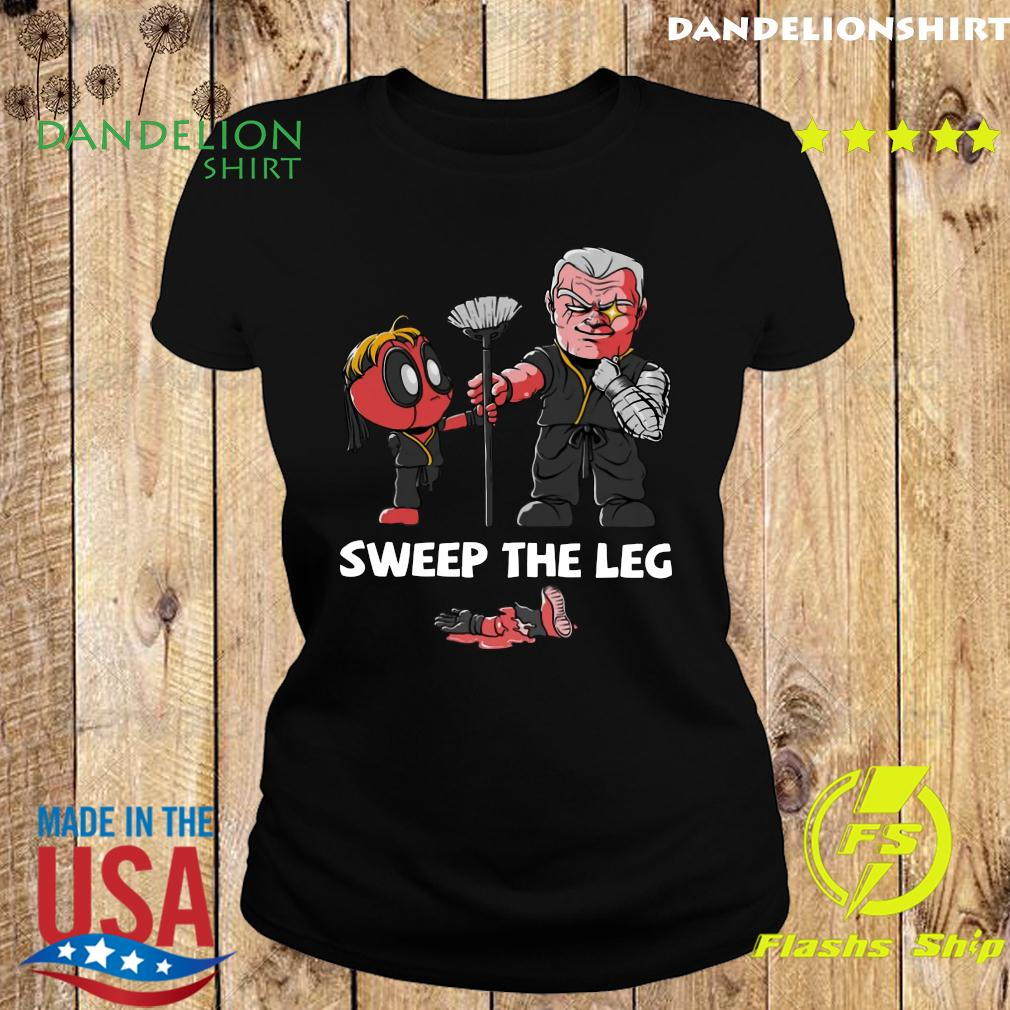 Clothing Sweep The Leg Funny Deadpool Cable Shirt Ladies tee