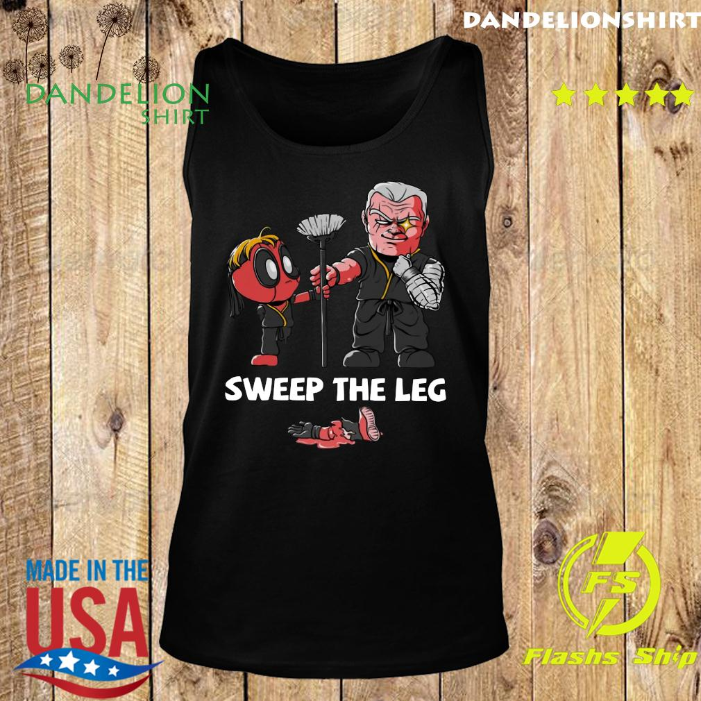 Clothing Sweep The Leg Funny Deadpool Cable Shirt Tank top
