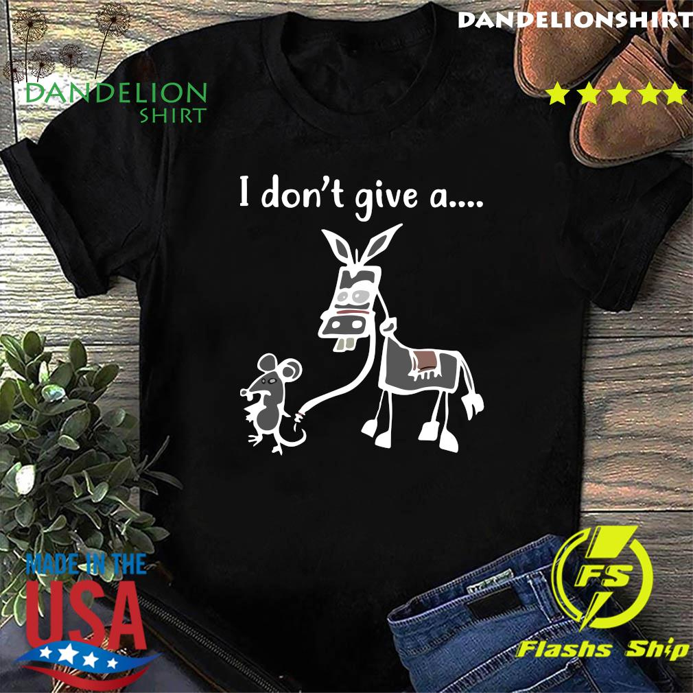I Don't Give A Rat's Graphic Shirt