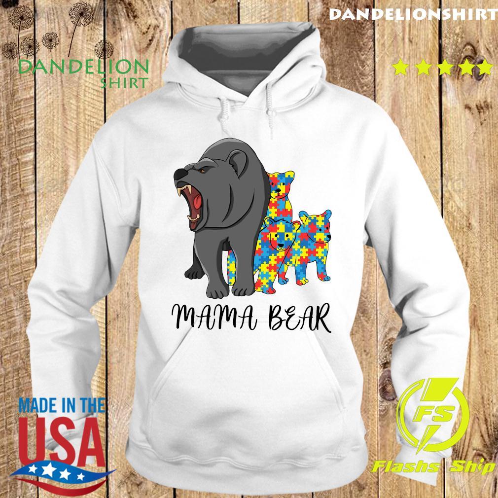 Mama Bear Autism Shirt Hoodie