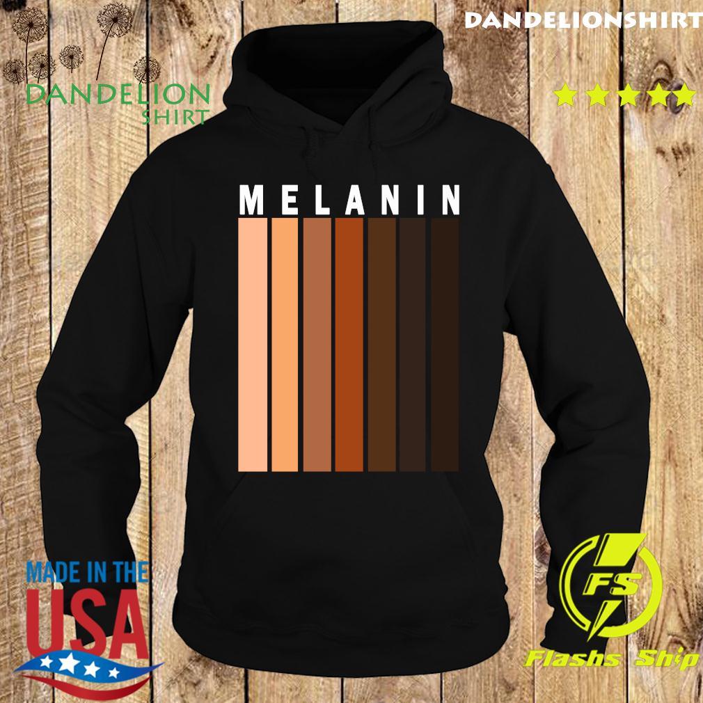 Melanin Shades Black Pride Gift T-Shirt Hoodie