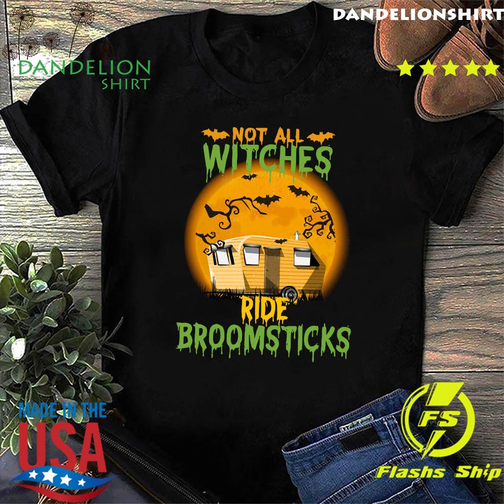 Not All Witches Ride Broomsticks Moon Shirt