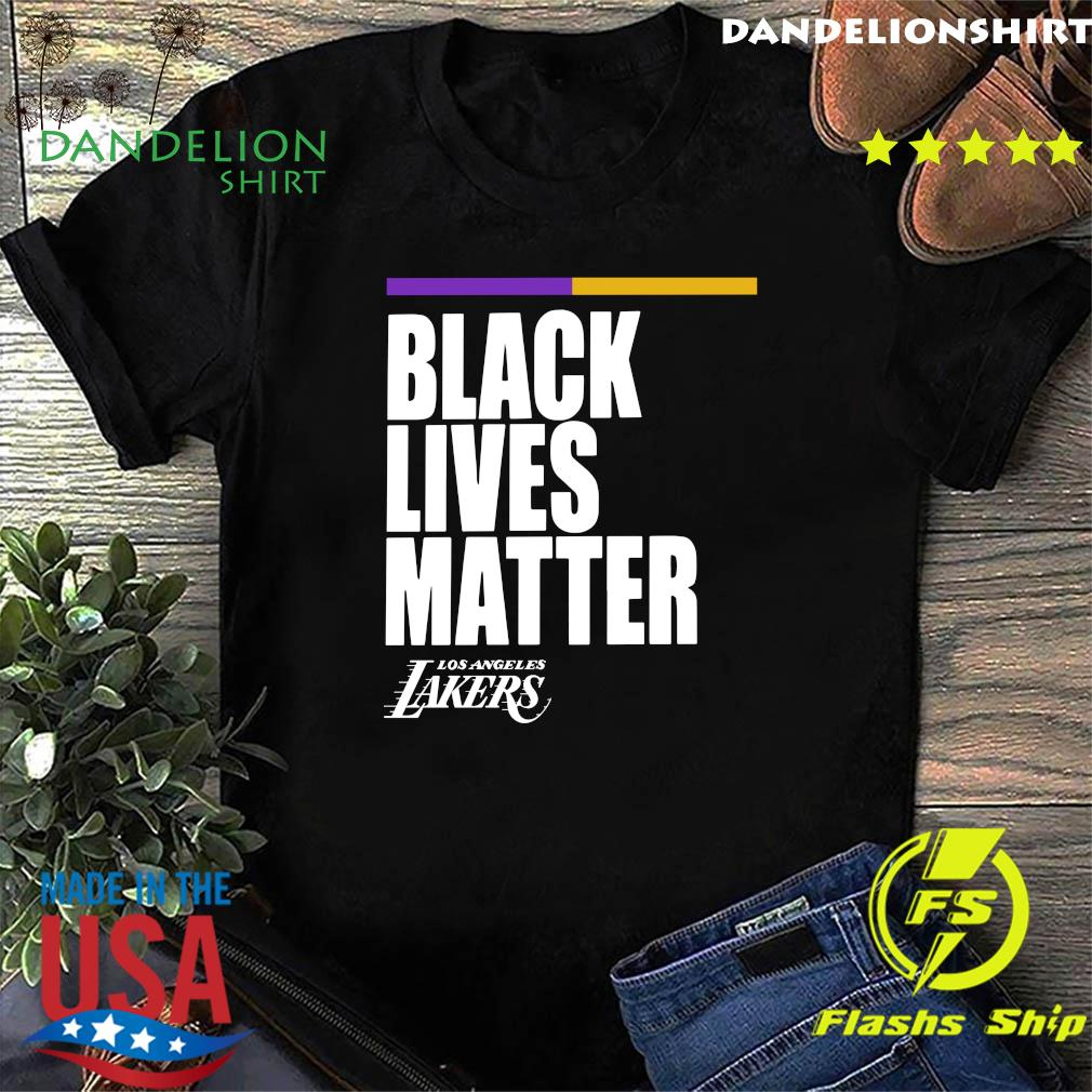 Official Black Lives Matter Los Angeles Street Lakers Shirt