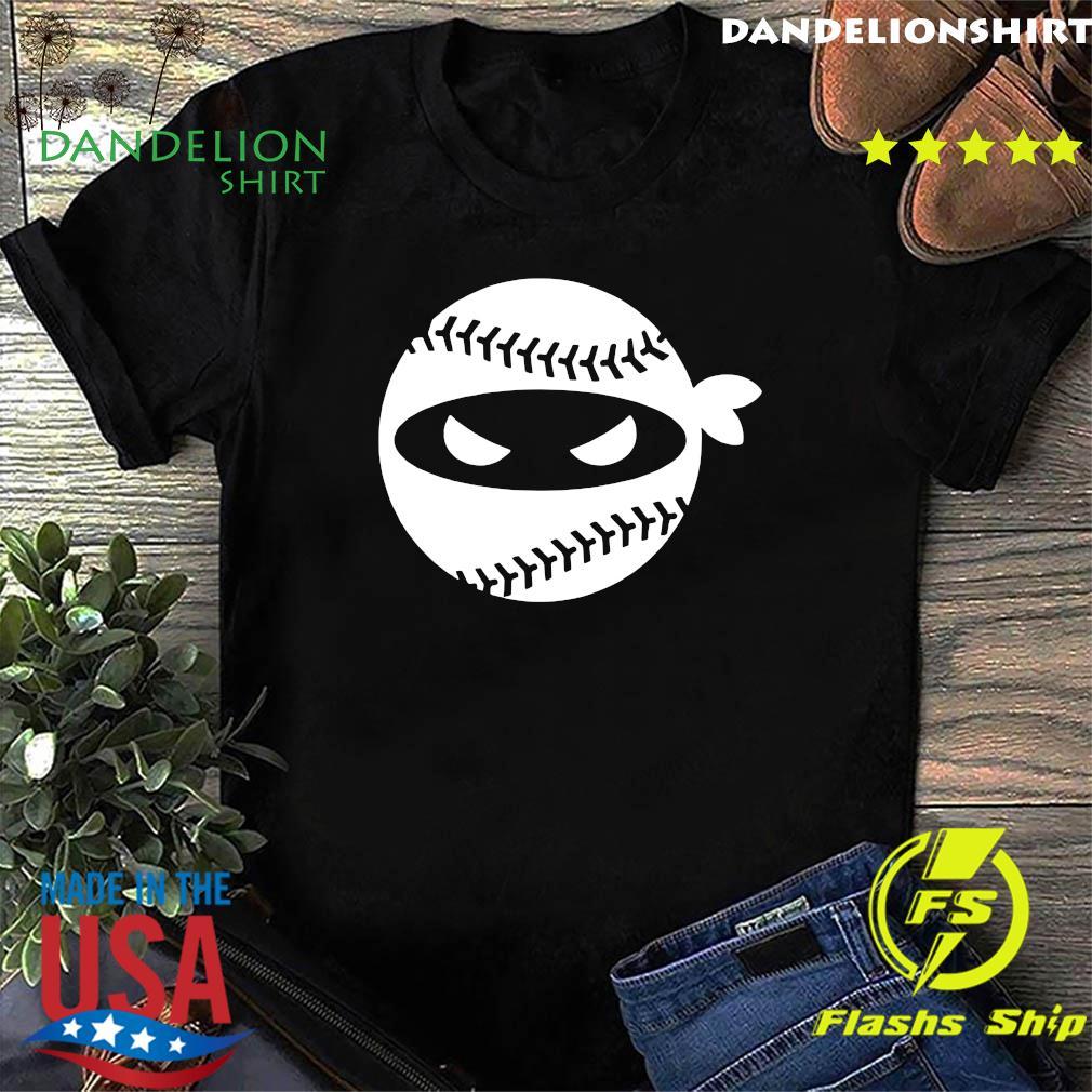 Pitching Ninja Onesie Baseball Shirt