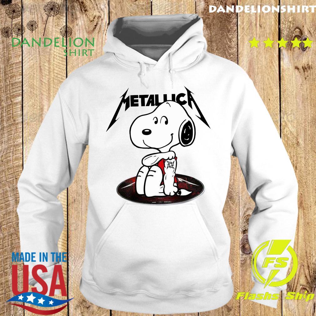 Snoopy Tattoo Metallica Shirt Hoodie