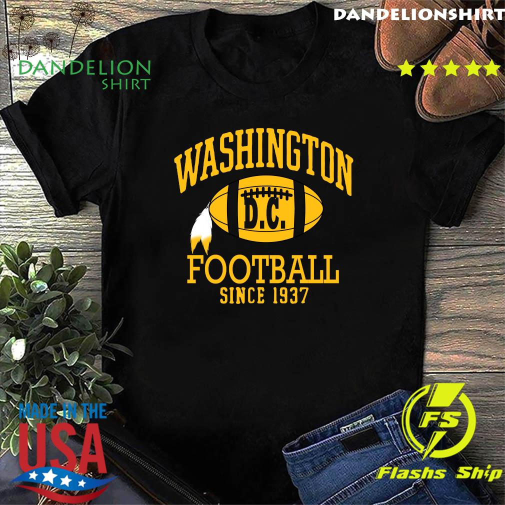 Vintage Washington Dc Football Since 1937 Shirt