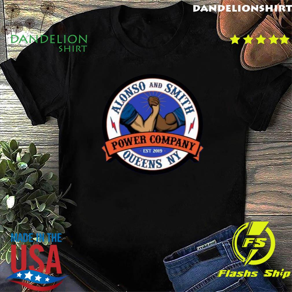 Alonso Smith Queens Power Company NY Logo T-Shirt