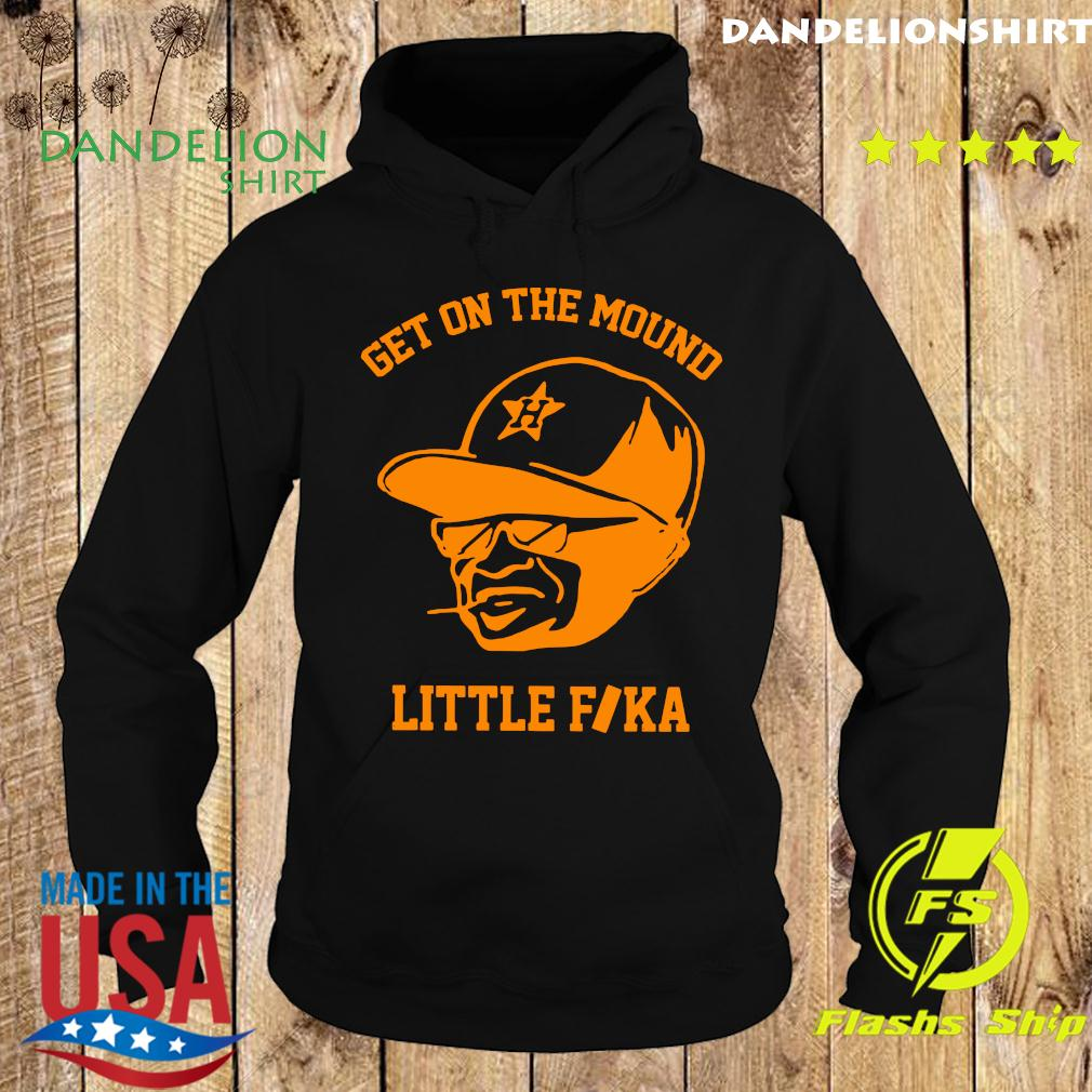 Get On The Mound Little Fika Shirt Hoodie