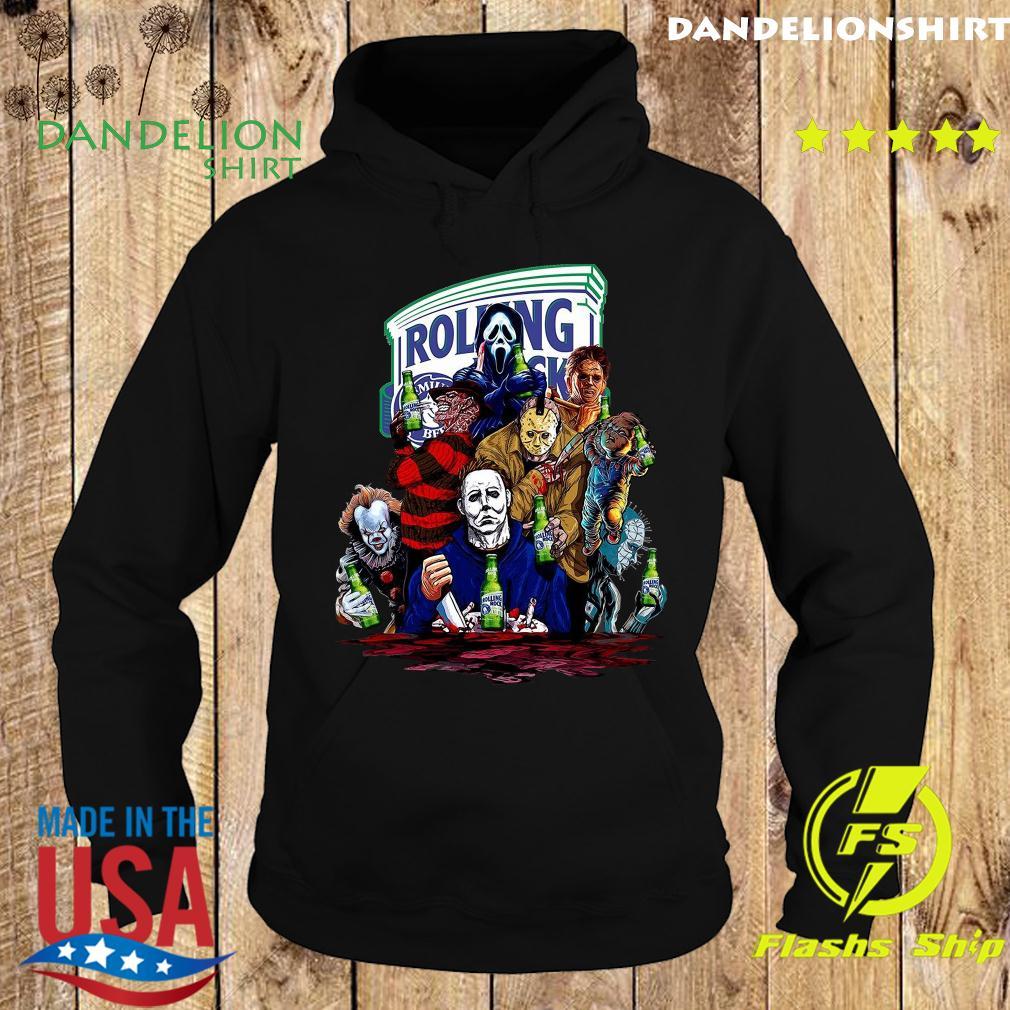 Horror Character Rolling Rock Shirt Hoodie