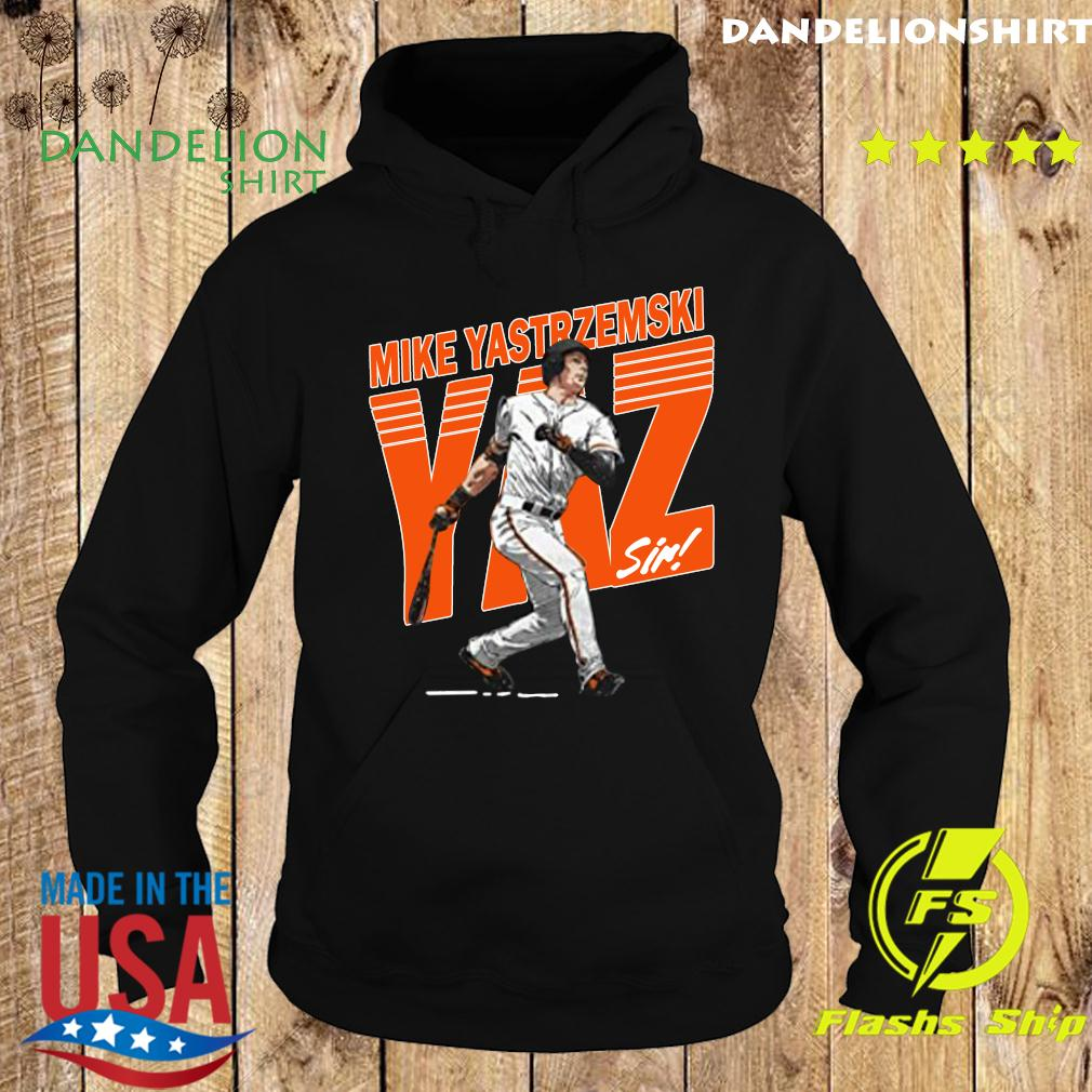 Mike Yastrzemski Tee San Francisco Baseball Mike Yastrzemski YAZ Shirt Hoodie