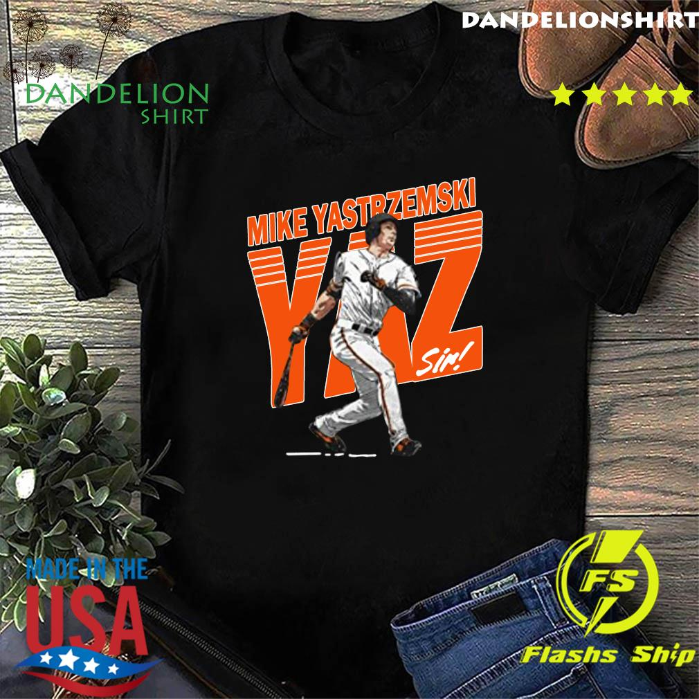 Mike Yastrzemski Tee San Francisco Baseball Mike Yastrzemski YAZ Shirt